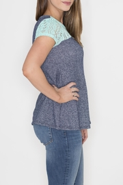 12pm by Mon Ami Tribal Terry Top - Front full body