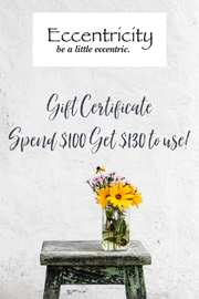 No Vendor $130 Gift Certificate for $100 - Product Mini Image