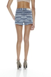 Washborn Tribal-Print Shorts - Back cropped