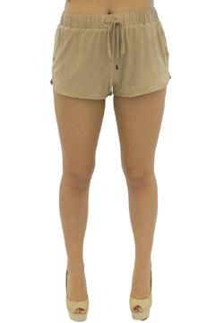 Maronie  Suede Shorts - Product List Image