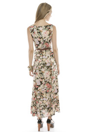 Shoptiques Product: Floral Button-Up Maxi Dress - Side cropped