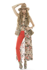 MinkPink Floral Button-Up Maxi Dress - Other