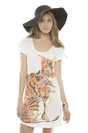 Shoptiques Product: Short-Sleeve Printed Tee