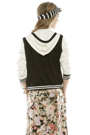 Members Only Varsity Jacket - Back cropped