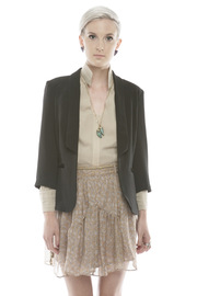 Shoptiques Product: Black Cut-Out Blazer