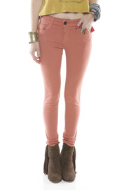 Black Orchid Denim Mid Rise Jeggings - Front cropped