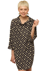Shoptiques Product: Tie-Collar Tunic