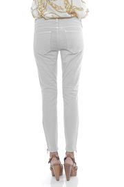 Current/Elliott The Zip Stiletto Jeans - Back cropped