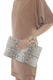 Presmer Python Envelope Clutch - Other