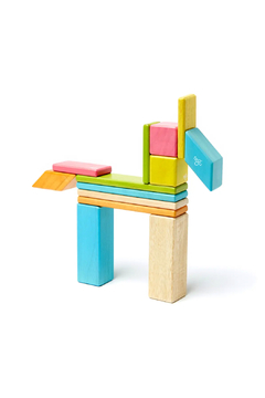 Tegu 14 Piece Magnetic Wooden Block Set - Alternate List Image