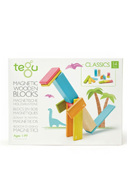 Tegu 14 Piece Magnetic Wooden Block Set - Product Mini Image