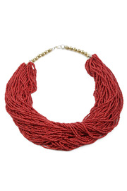 A Bientot Beaded Necklace - Other