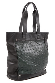 Jack Germain  Embossed Leather Bag - Other