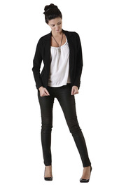 Tuttitrendy Black Suit Jacket - Front full body