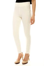 Gracia Ribbed Riding Pant - Side cropped