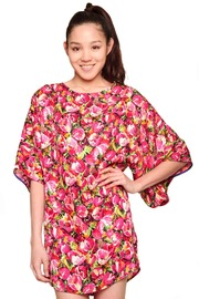 Shoptiques Product: Doucette Duval Floral Silk Shift