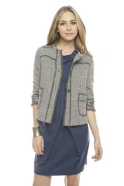 Shoptiques Product: Cropped Wool Tweed Jacket