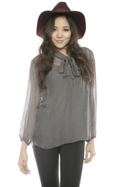 Shoptiques Product: Silk Bow Blouse
