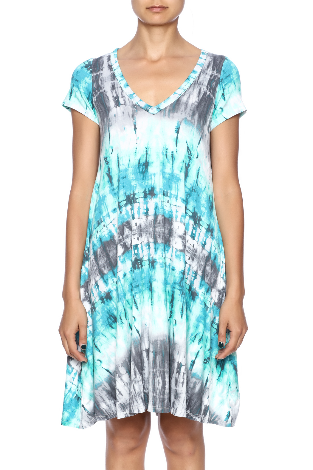 143 story blue tie dye dress from tennessee by southern