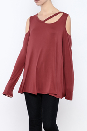 143 Story Cold Shoulder Top - Product Mini Image