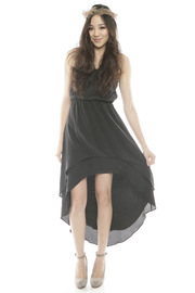 Shoptiques Product: Strapless High-Low Dress