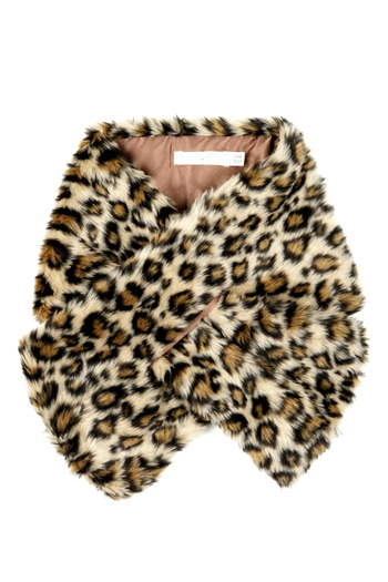 Tulle Leopard Scarf - Main Image
