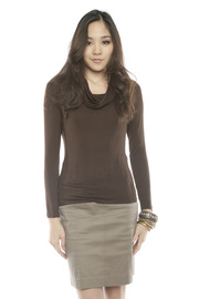 Shoptiques Product: Draped Neck Basic