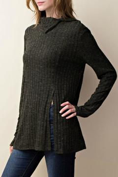 Shoptiques Product: Olive Turtleneck Sweater