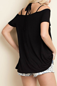 143 Story Bamboo Cold Shoulder Tunic - Alternate List Image