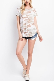 143 Story Camo Cut-Out-Back Tee - Product Mini Image