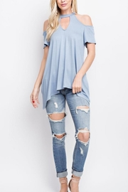 143 Story Cold-Shoulder Top - Product Mini Image