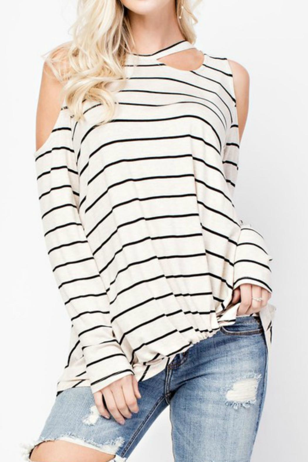143 Story Colder Shoulder Top - Main Image