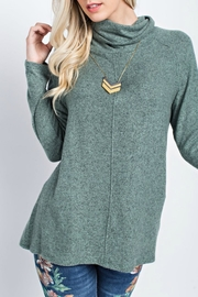 143 Story Cowl Neck Sweater - Front cropped