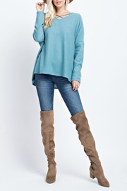143 Story Crisscross Top - Front cropped