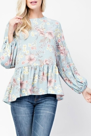 143 Story Favorite Babydoll Floral - Front cropped