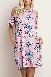 143 Story Floral Comfy Dress - Product Mini Image