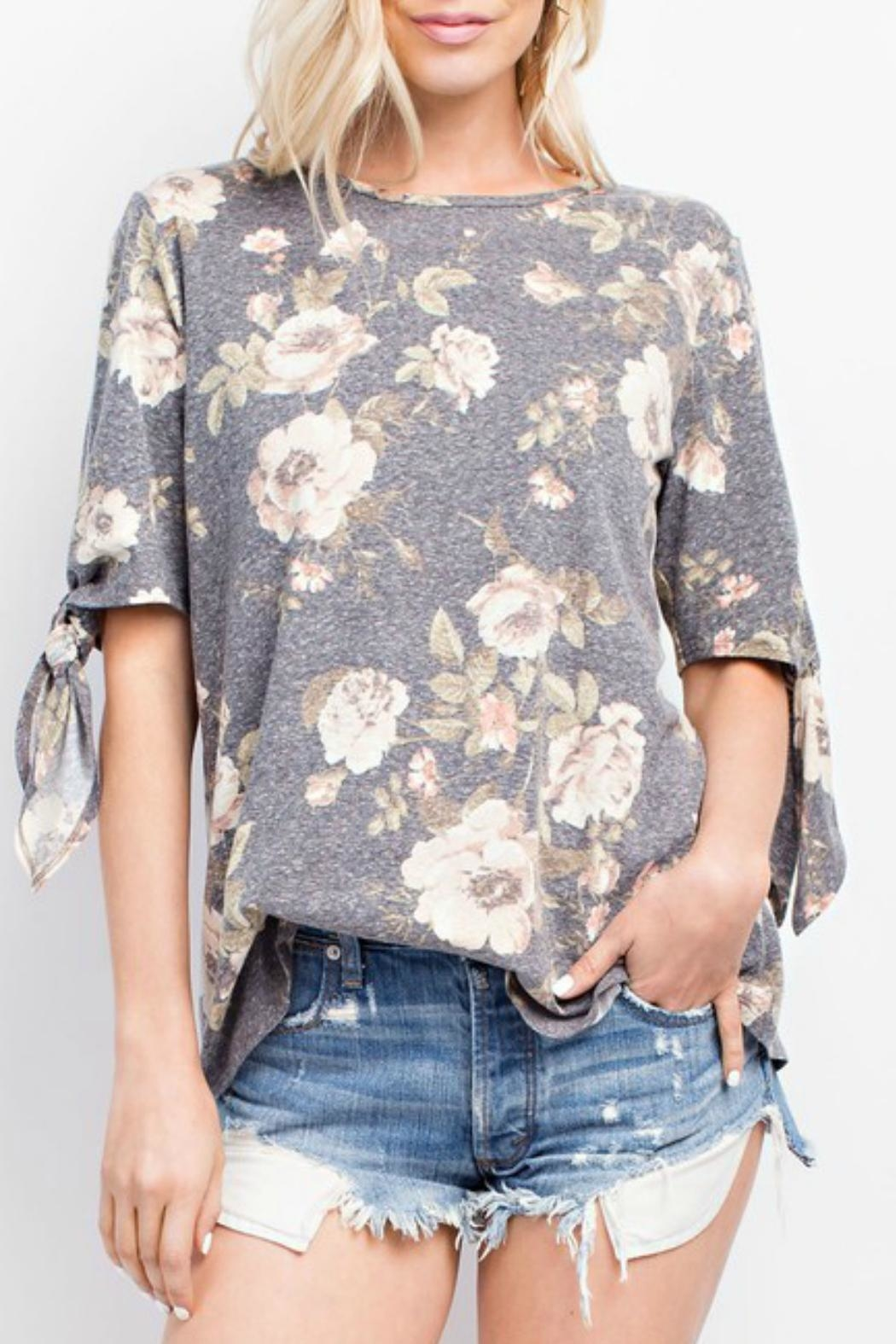 143 Story Floral Pullover Top - Main Image