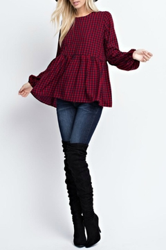 143 Story Gingham Check Blouse - Product List Image