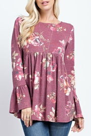 143 Story Jersey Floral Babydoll - Product Mini Image