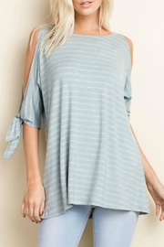 143 Story Open Slit Tunic Top - Product Mini Image