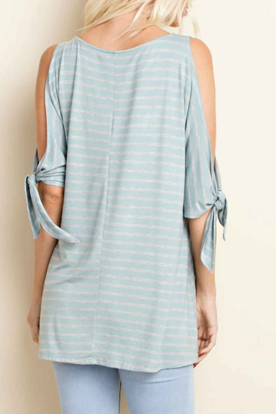 143 Story Open Slit Tunic Top - Side Cropped Image