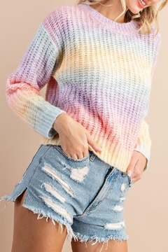 143 Story Rainbow Soft Sweater - Product List Image