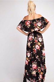 143 Story Ruffle Flora Maxi - Side cropped