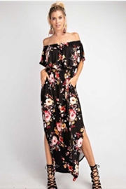 143 Story Ruffle Flora Maxi - Front cropped