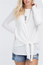 143 Story Self Tie Sweater - Front cropped