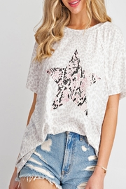143 Story Snake-Star Leopard-Print Top - Product Mini Image