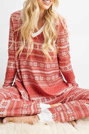 143 Story Snowflake Lounge-Wear Set - Other