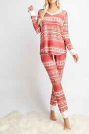 143 Story Snowflake Lounge-Wear Set - Front cropped