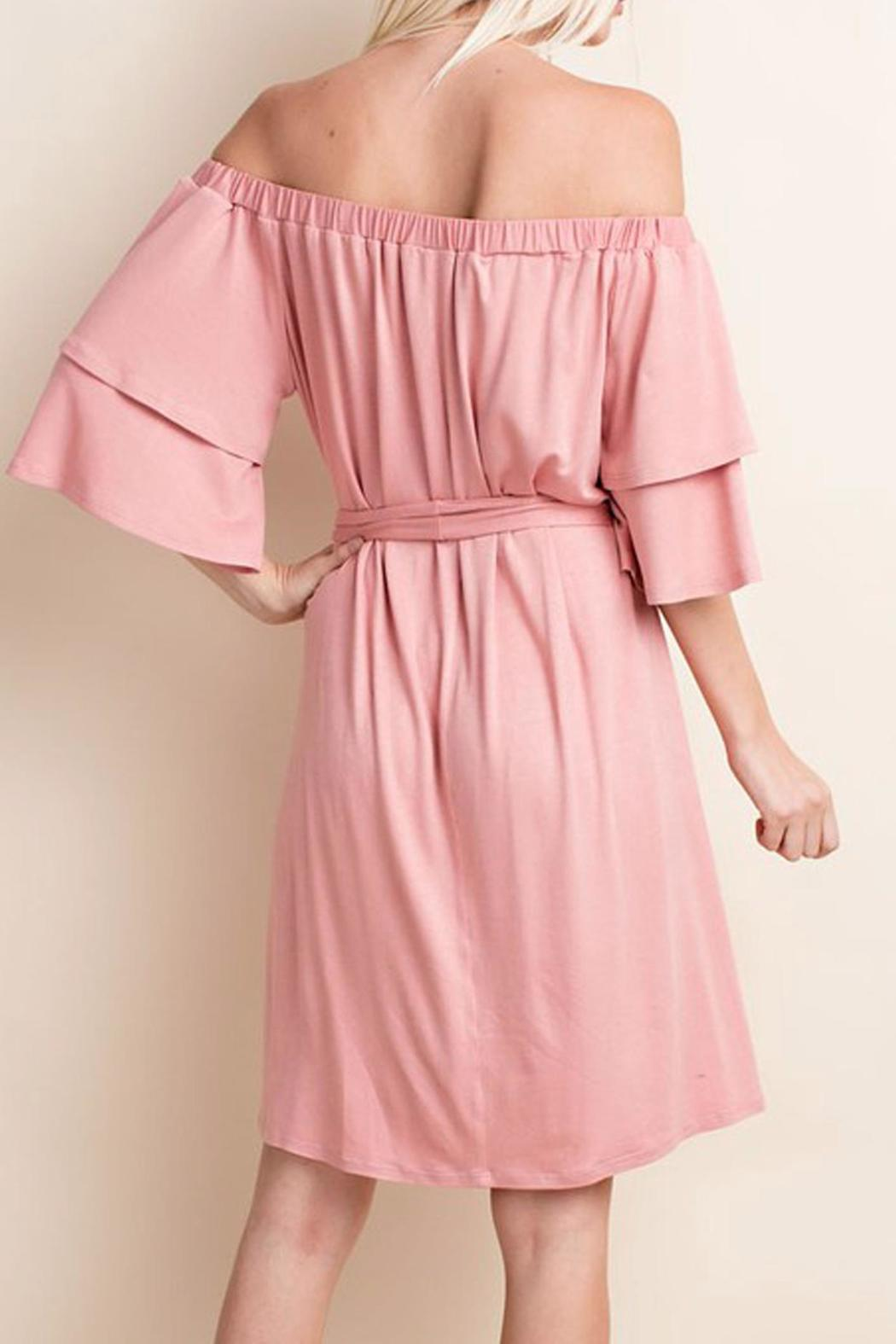 143 Story Soft Pink Dress - Side Cropped Image