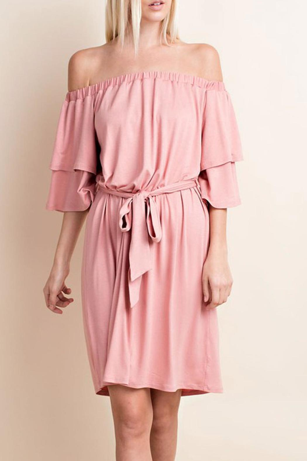 143 Story Soft Pink Dress - Main Image